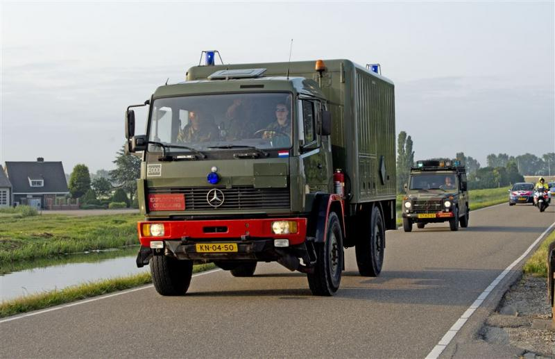 Verwarde man uit joyrijden met truck Defensie