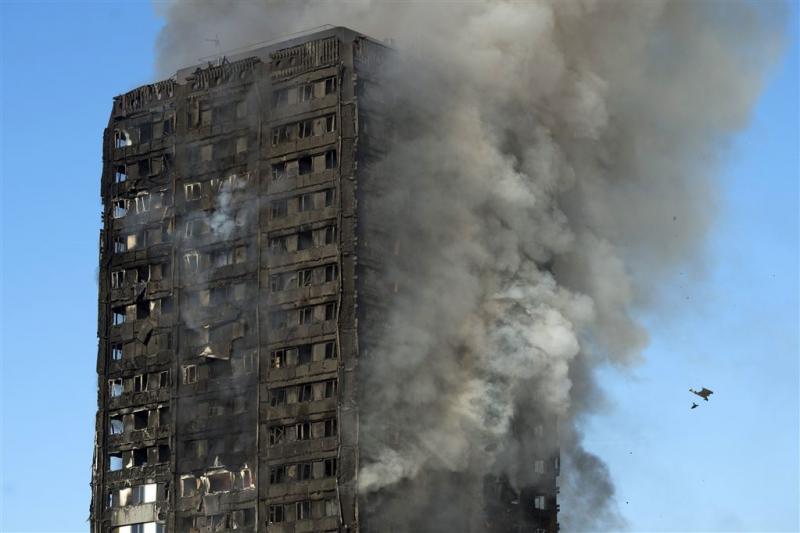 'Signalen van door brand ingesloten bewoners'