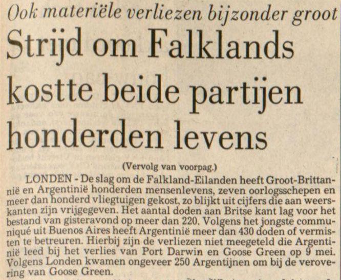 Uit de Leeuwarder Courant van 15 juni 1982