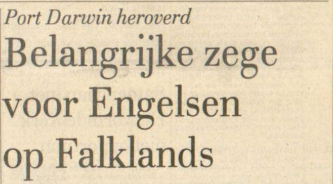 Uit de Leeuwarder Courant van 29 mei 1982