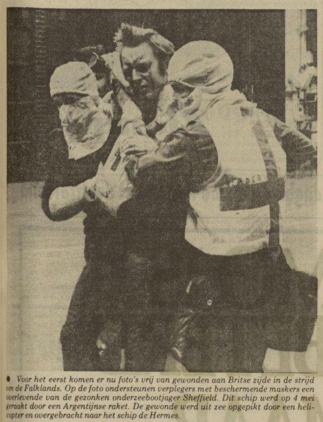 Uit het Nieuwsblad van het Noorden van 27 mei 1982
