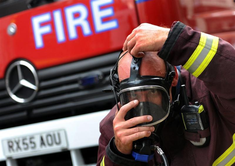 Grote brand in hoog flatgebouw in Londen