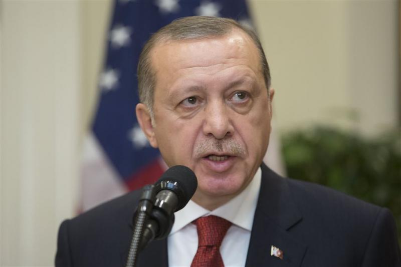 Erdogan hekelt arrestatie lijfwachten in VS