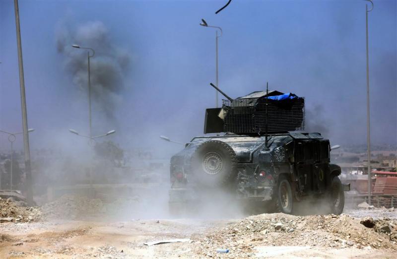 Irakees leger bestormt historisch deel Mosul