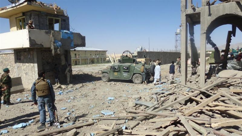 Veel doden bij aanslag Afghaans politiebureau