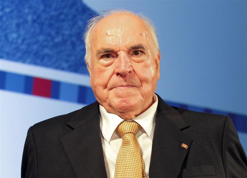 Helmut Kohl krijgt 'staatsbegrafenis' EU