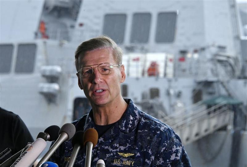 Bemanning redde USS Fitzgerald na aanvaring