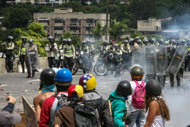 Traangas raakt op in Venezuela