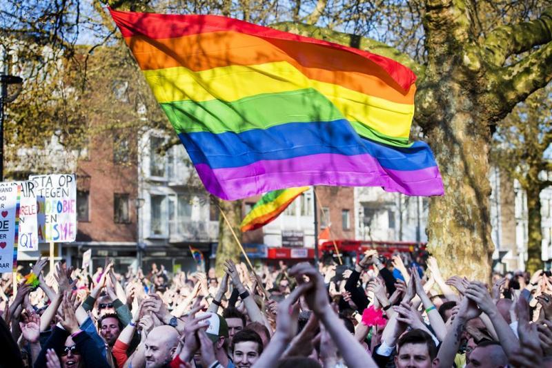 Mannen gewond door homogerelateerd geweld
