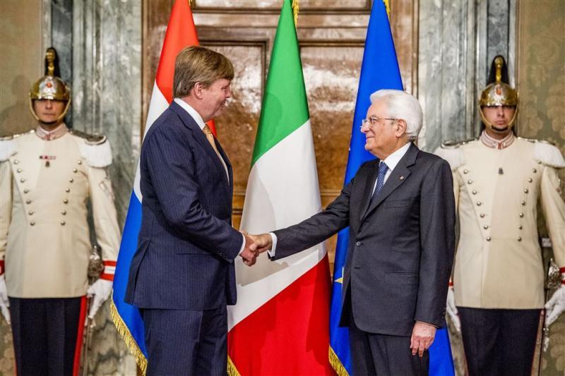 Koning: Italië onmisbaar voor stabiliteit