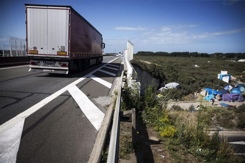 Dode door wegblokkade Calais