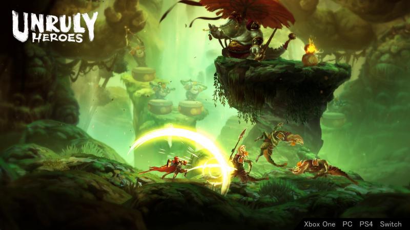 Unruly Heroes - Minions moeten kapot