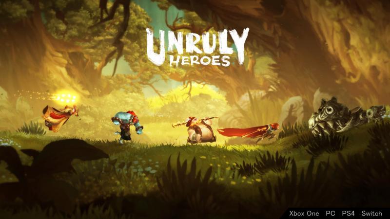 Unruly Heroes - De Helden