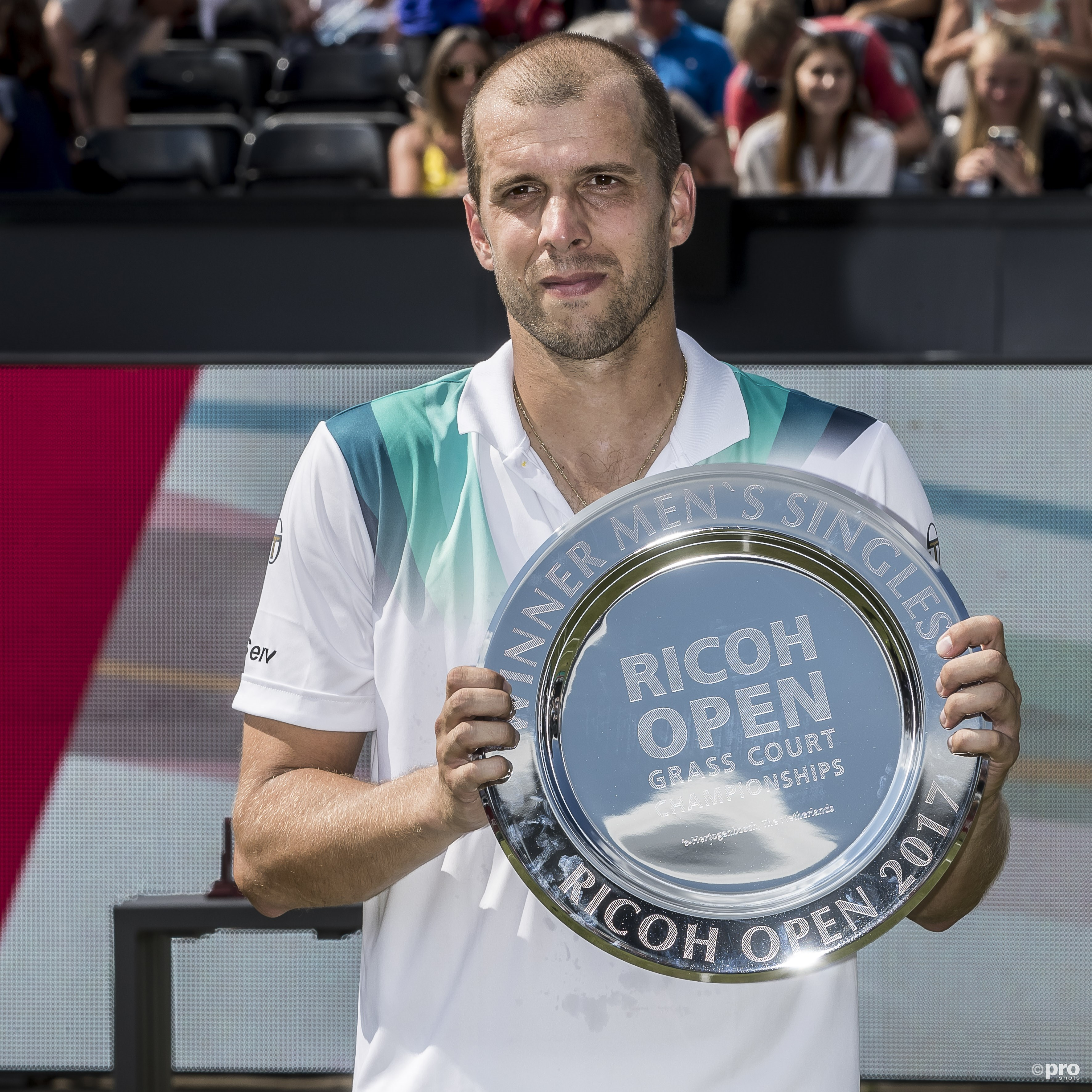 Müller wint in Rosmalen. (PRO SHOTS/Joep Leenen)