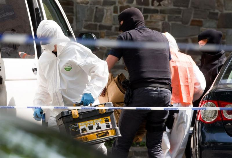 'Bommateriaal in woning terrorist Brussel'