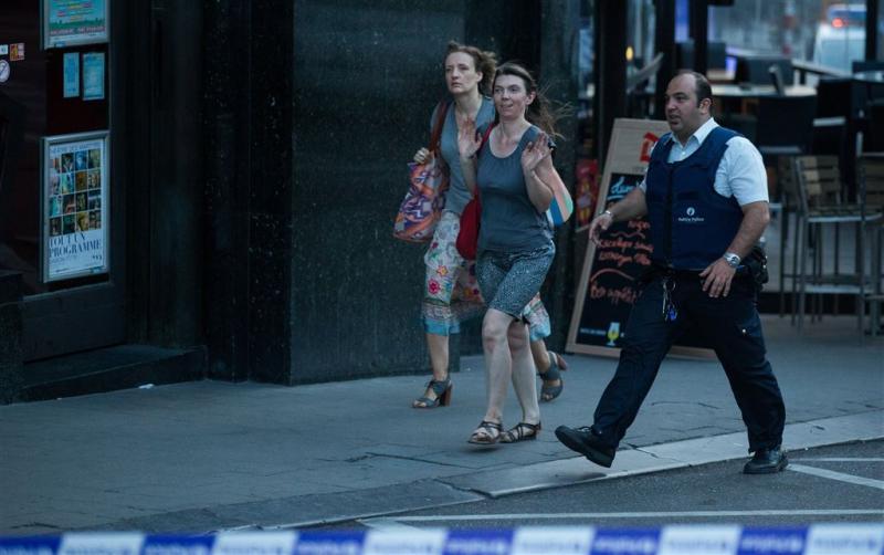 'Verdachte vermeende aanslag Brussel dood'