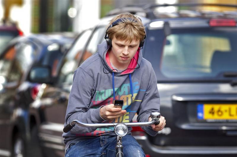 Slim fietsslot blokkeert smartphonegebruik