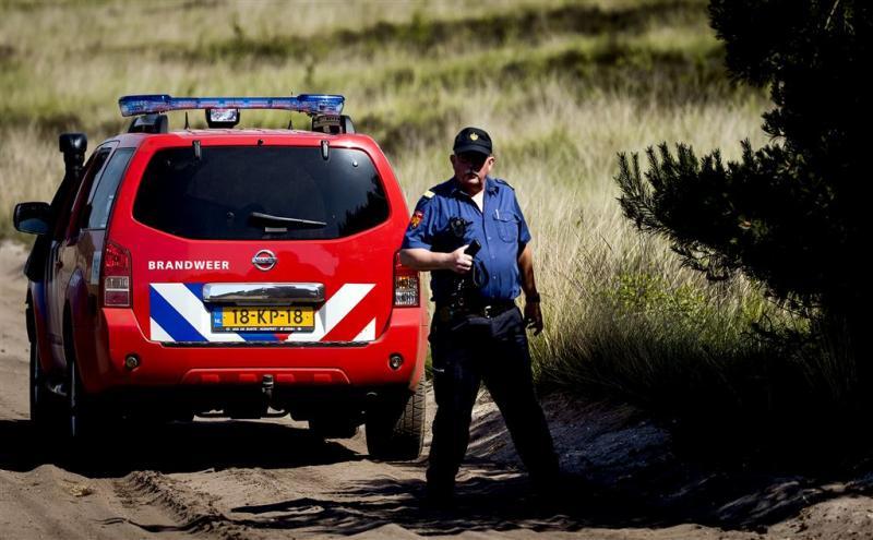 Brand in natuurgebied Terschelling