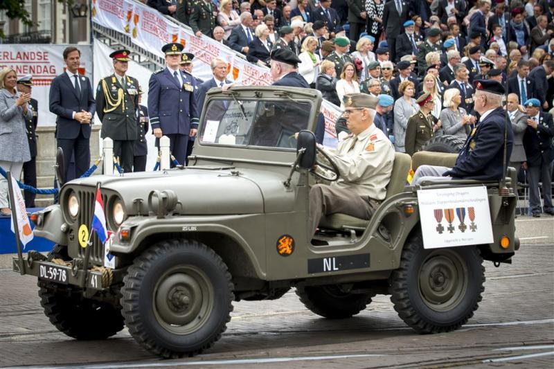Den Haag verwelkomt veteranen