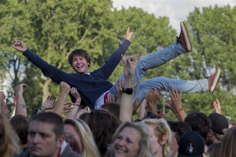 Parkpop in Den Haag trekt 200.000 bezoekers