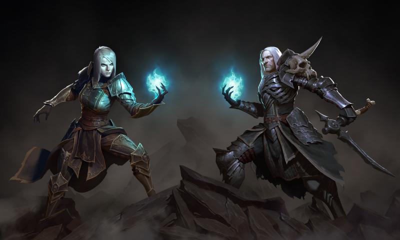 Diablo III Necromancer artwork