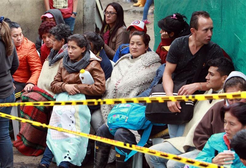 Doden en vermisten door explosie mijn Colombia