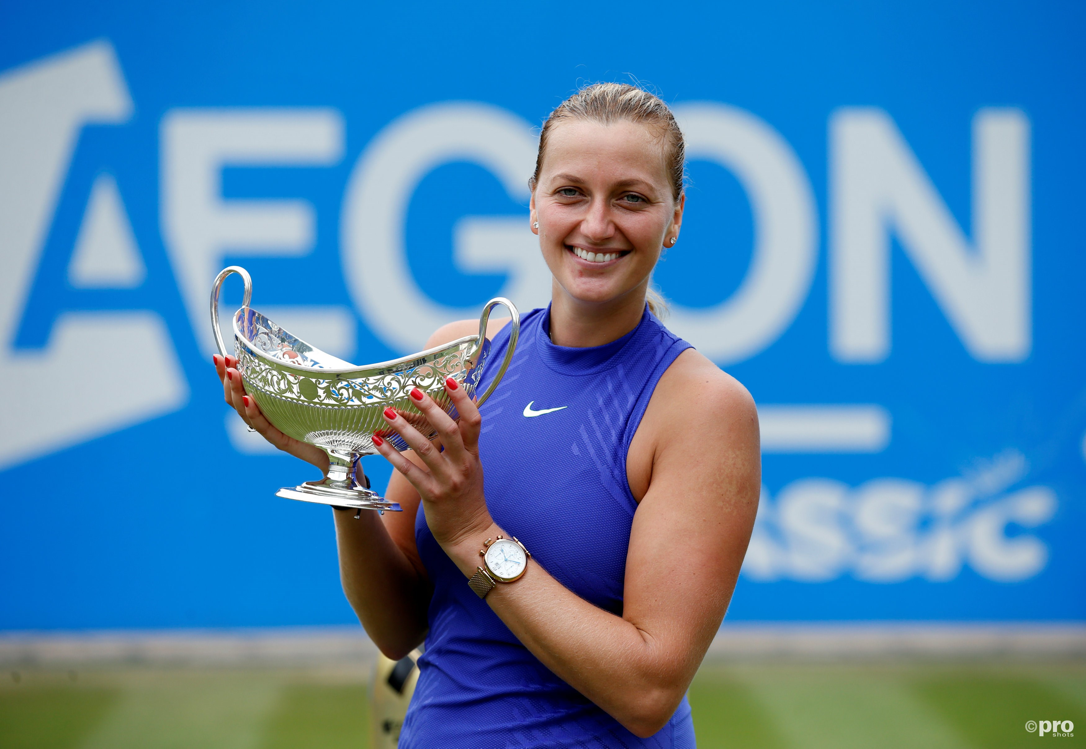 Kvitova wint eerste toernooi na rentree. (PRO SHOTS/Action Images)