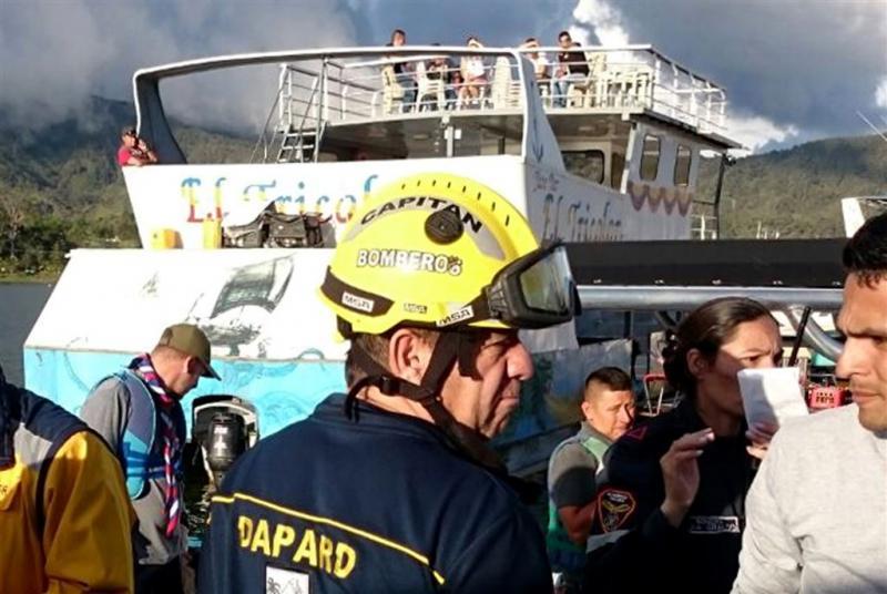 Doden na zinken boot op Colombiaans meer