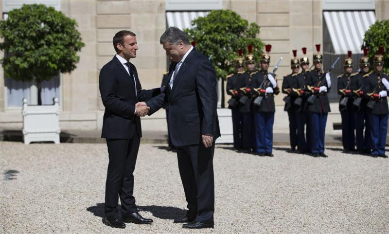 Macron wil oplossing voor conflict Oekraïne
