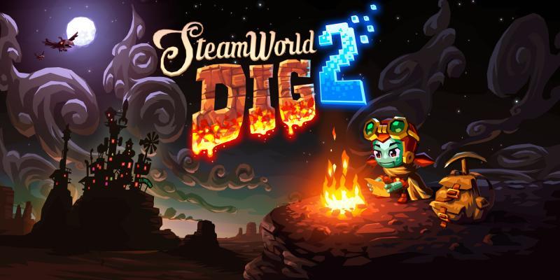 SteamWorld Dig 2 - Kampvuur