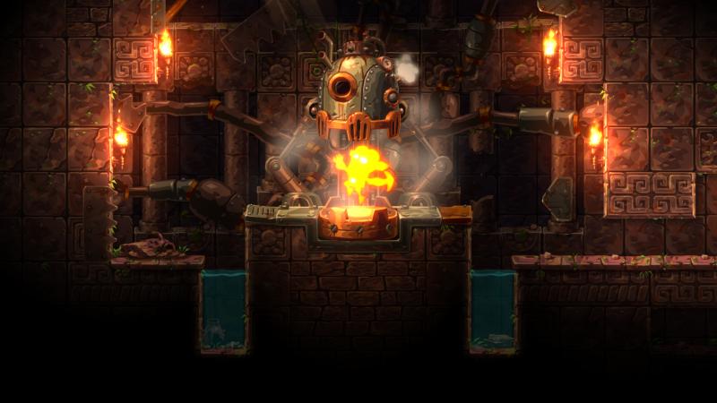 SteamWorld Dig 2 - Power up