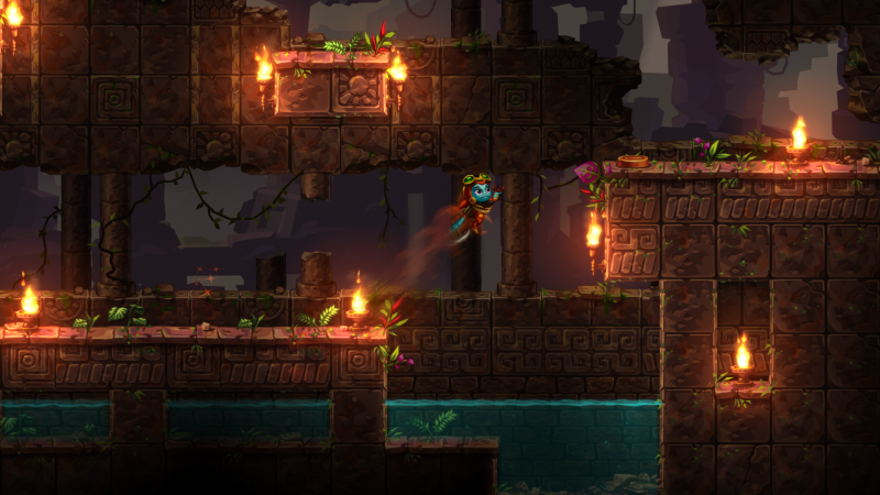 SteamWorld Dig 2 - Super sprong