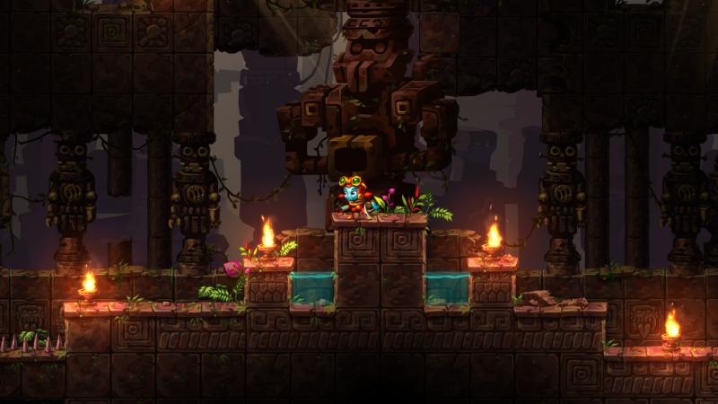 SteamWorld Dig 2 - Robot tempel