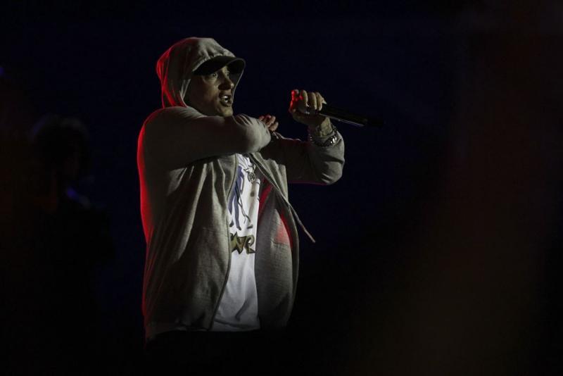 Eminem laat baard groeien