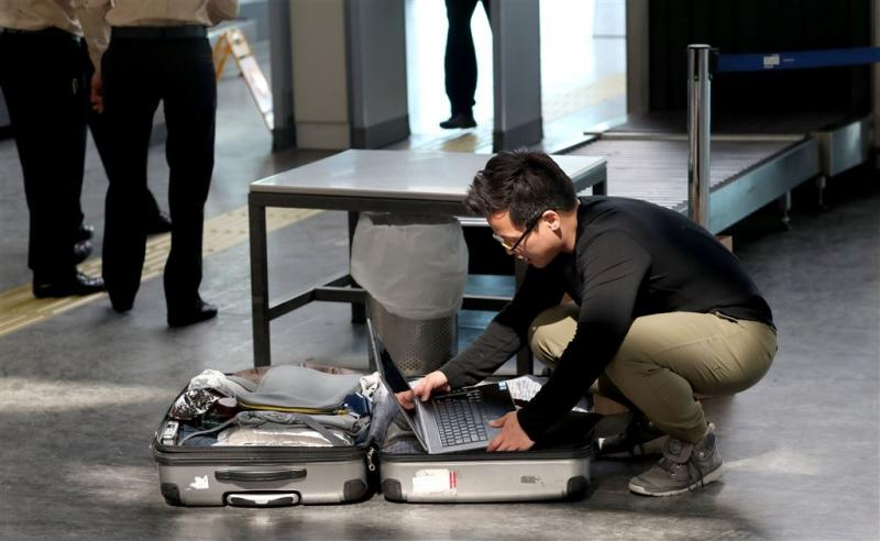 Laptops op vluchten naar VS blijven mogen