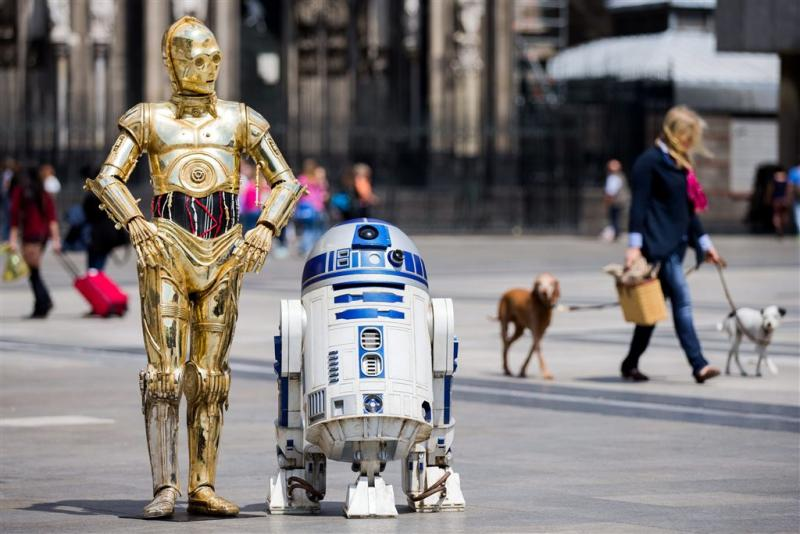 Robot R2-D2 brengt 2,4 miljoen op bij veiling