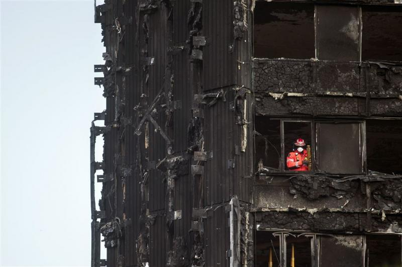 'Nepslachtoffer' torenbrand Londen opgepakt