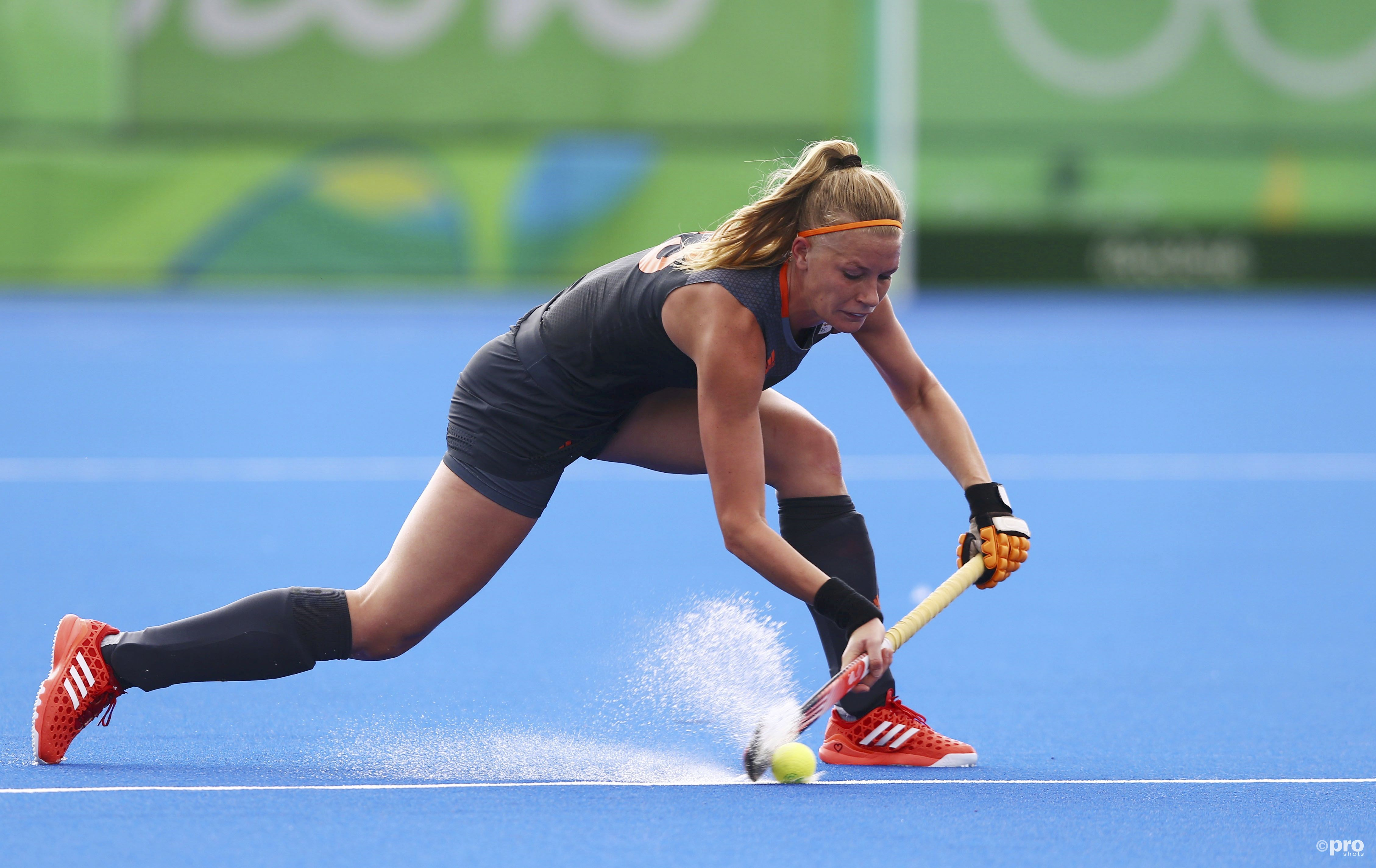 Caia Van Maasakker helpt Oranje naar het WK. (PRO SHOTS/Action Images)