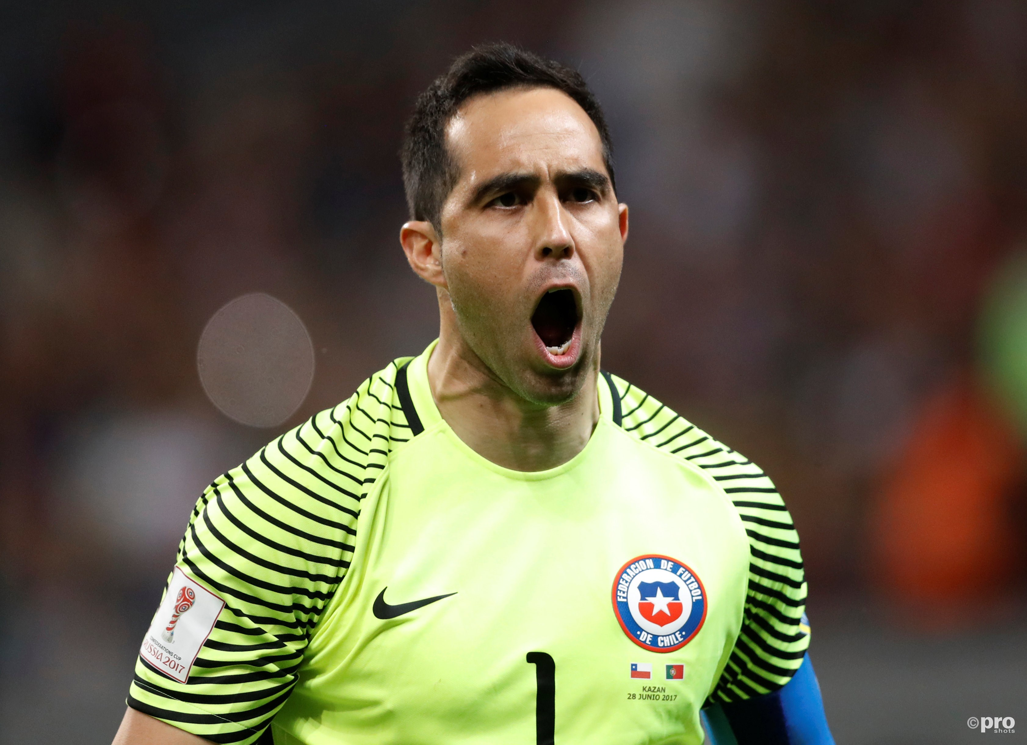 Claudio Bravo is de held van de avond. (PRO SHOTS/Action Images)