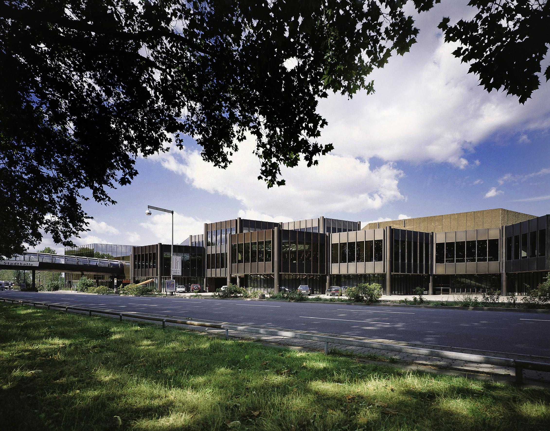 Het Düsseldorfse congrescentrum (Foto: WikiCommons)