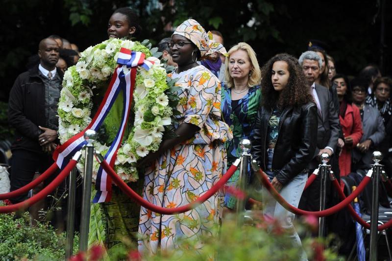 Herdenking afschaffing slavernij in Amsterdam