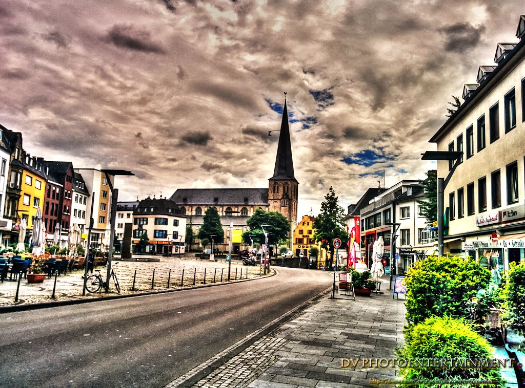 We rijden door Mönchengladbach (Foto: Imgur)