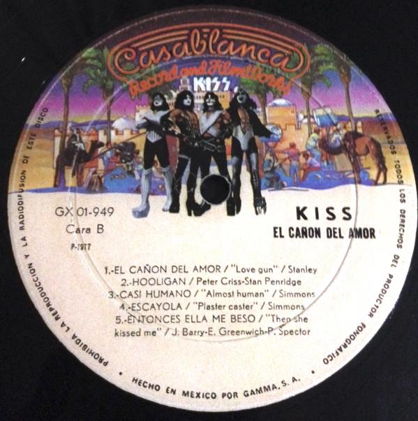 Kiss - Love Gun B