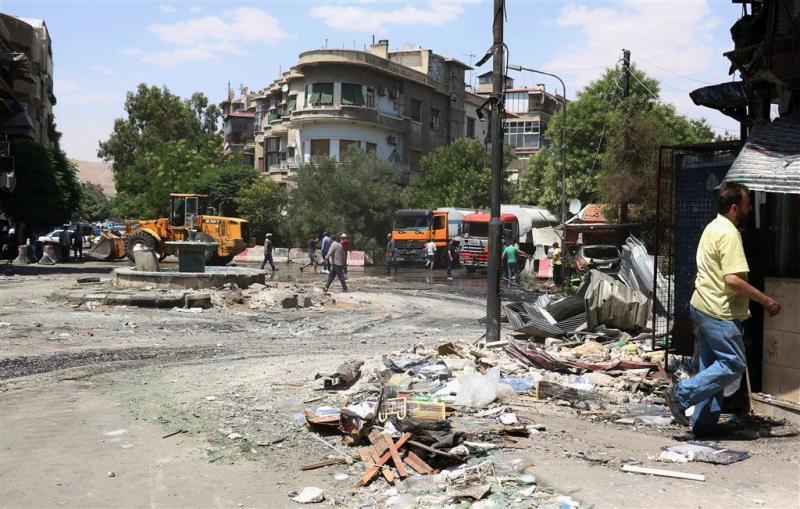 Veel doden door aanslagen in Syrië en Irak