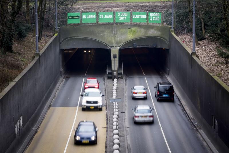 Maastunnel twee jaar dicht van noord naar zuid