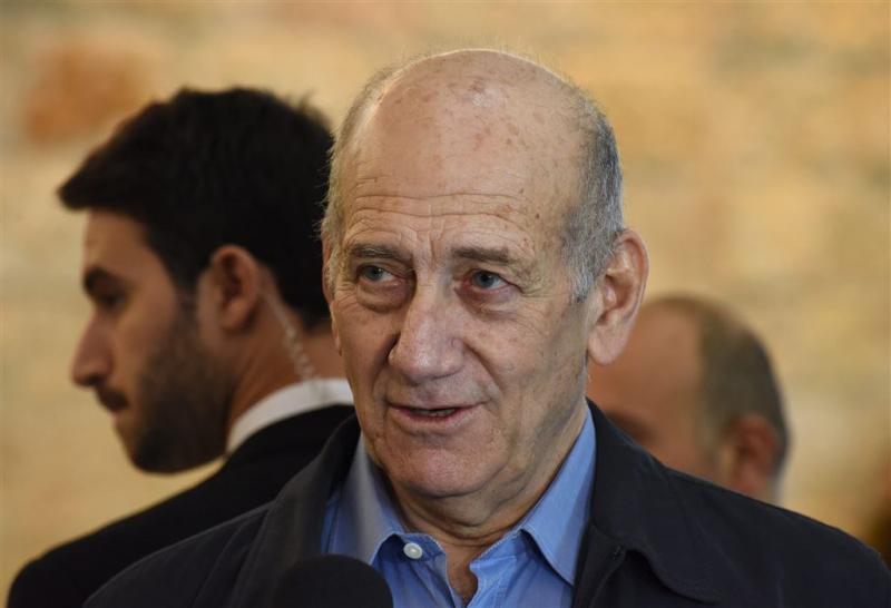 Ex-premier Israël Olmert vrijgelaten