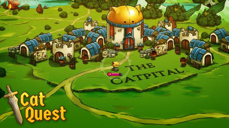 Cat Quest - Hoofdstad