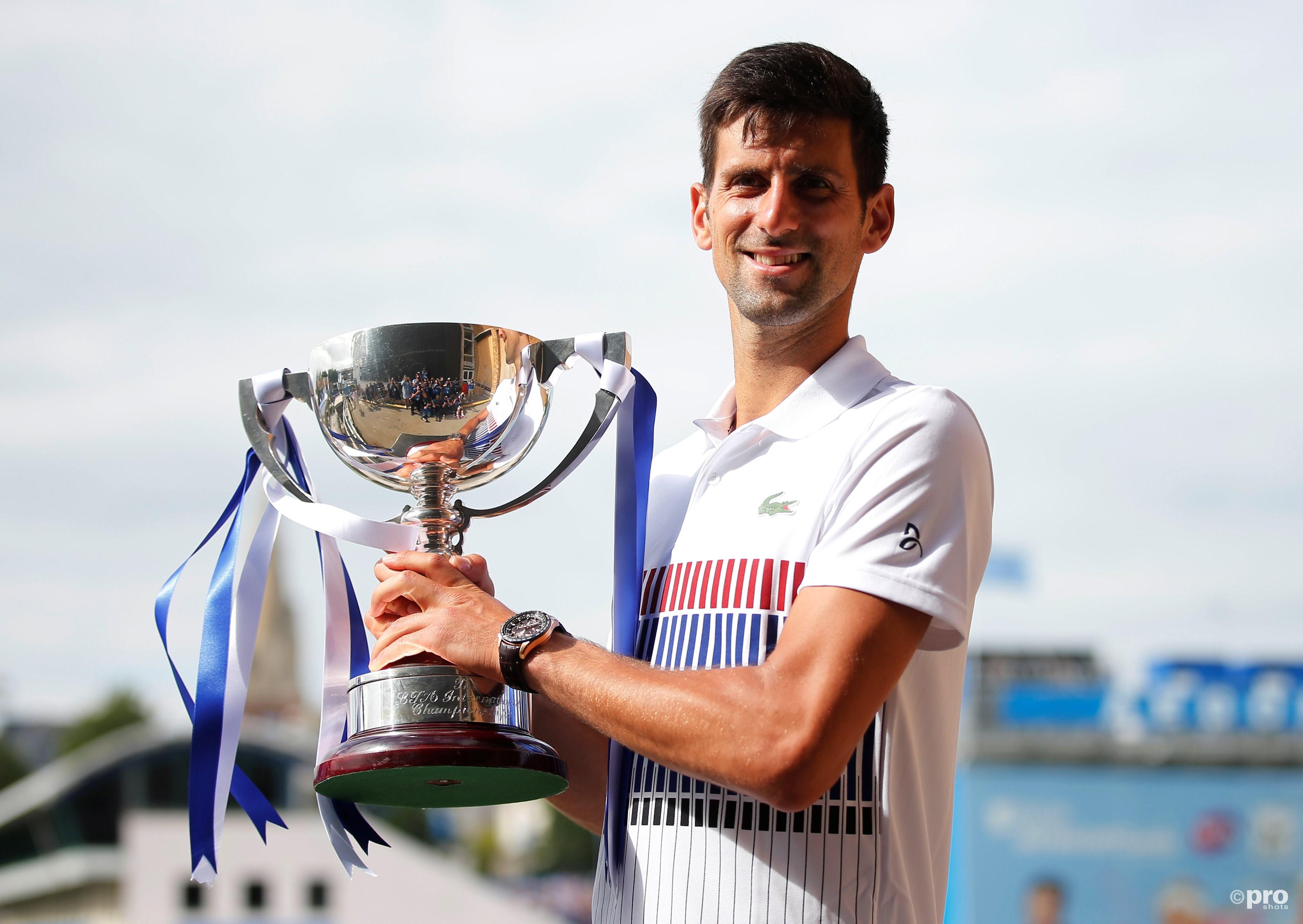 Djokovic zegeviert in Eastbourne in aanloop naar Wimbledon. (PRO SHOTS/Action Images)