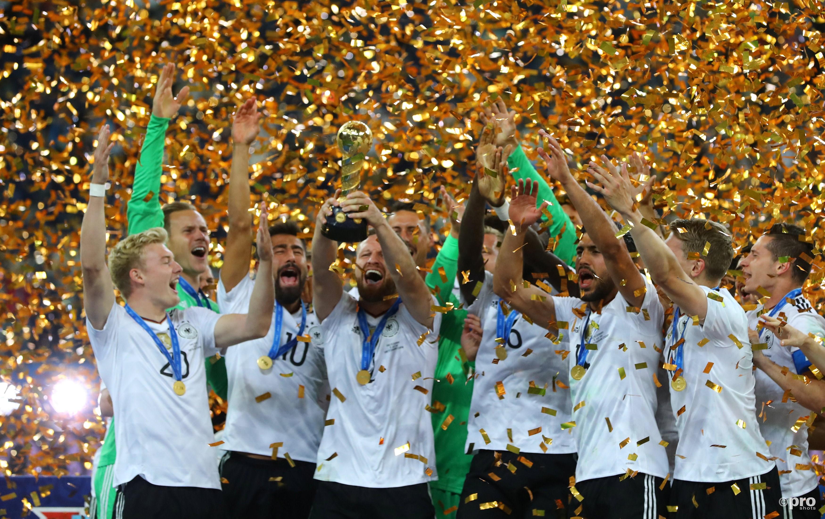 Weer prijs voor Duitsland dit seizoen. (PRO SHOTS/Action Images)