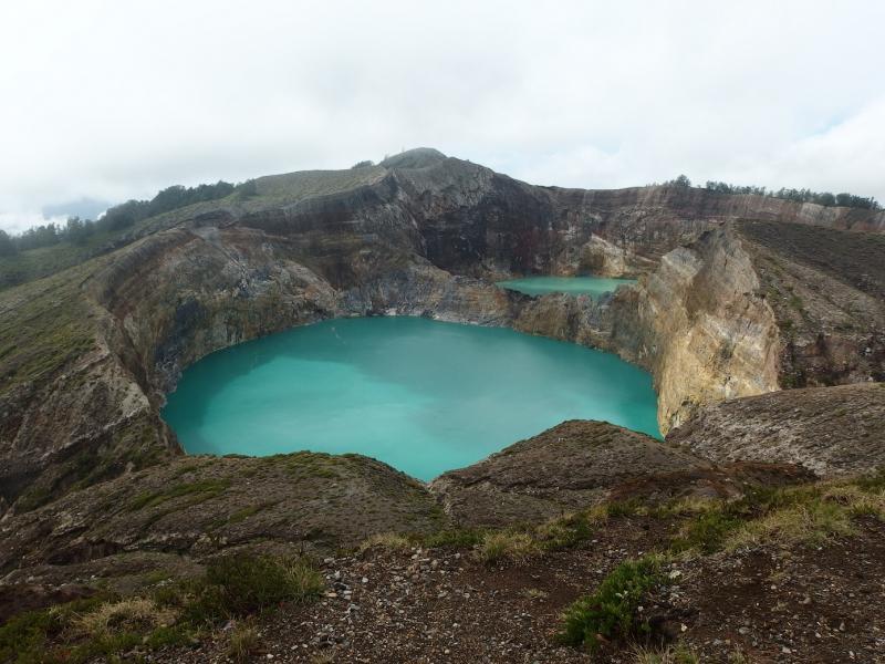 Kratermeren van Kelimutu (vulkaan), Flores (Foto: Blind_Guardian)